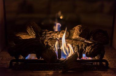Hotgas LPG burnwood