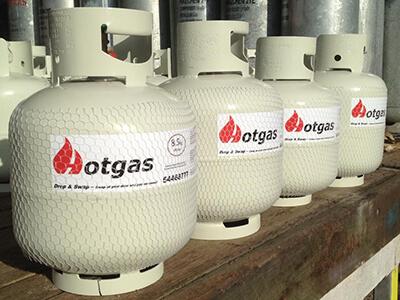 Hotgas tanks